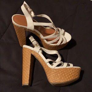 "Sexy 6"" sandals by Jessica Simpson (7) EUC!"